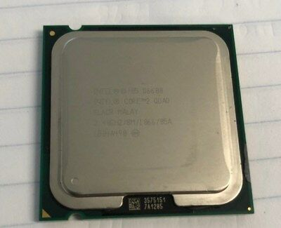 Intel Core 2 Quad Q6600 Slacr 2.40Ghz/8M/1066/05A Cpu - Working Pull