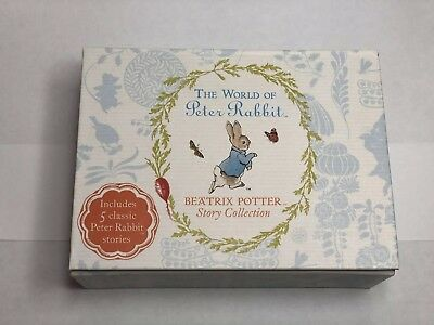 Beatrix Potter Story Collection 5 Classic Peter Rabbit Stories 2018
