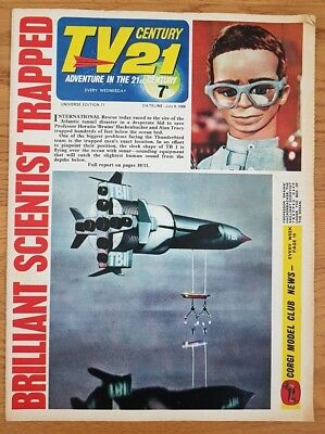 tv century 21 comic universe edition 77 VG/FN Stingray/Fireball XL5/ Daleks