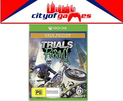 Trials Rising Gold Edition Xbox One Game Brand New & Sealed In Stock