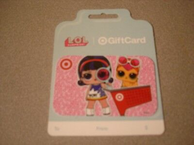 Target LOL Surprise Gift Card No Value - Collectible