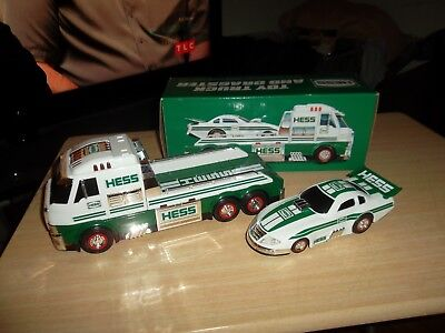 2016 Hess Toy Truck And Dragster - Tested/works - 100% Brand New In Box -