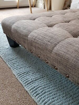 Very Large Oned Footstool Pouffe Coffee Table 80 00