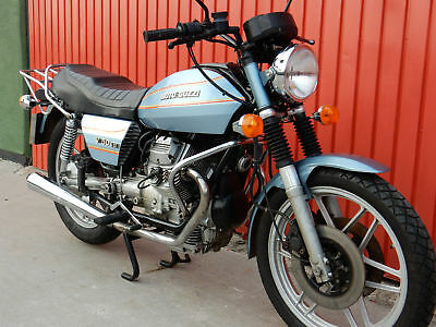 MOTO GUZZI V50 MKIII 500cc 1983 in blue WITH ONLY 19000 MILES
