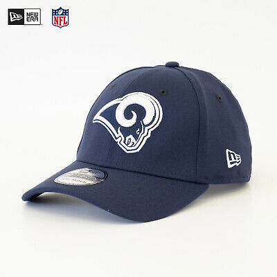 NEW ERA 39Thirty Fitted Cap NFL Los Angeles Rams Doppelstick Mütze Blau Top  SALE a2717d2e75e4