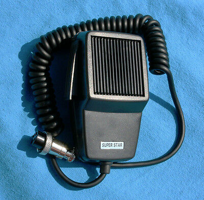 Dynamic Microphone DM-507 wired for KENWOOD 4 Pin TS-520, 820 etc NC USA SELLER!