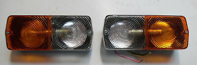 Front Combi Lights ( A Pair ) For David Brown / Marshall & Nuffield, Sekura Cabs