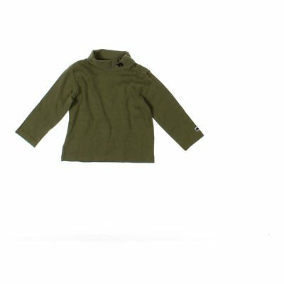 Janie and Jack Baby Boys  Shirt, size 18 mo,  green,  cotton