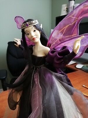 "Wendy Froud Night Faery 12"" Porcelain Figure RARE"