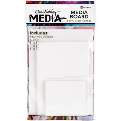 Dina Wakley Mixed Media Board - Assorted Sizes - 6 Pack
