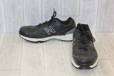 New Balance NBG1701 Golf Shoes - Men s Size 11.5 (4E) - Black e543a70c875
