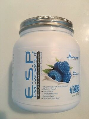 Metabolic Nutrition, ESP, Energy and Endurance Pre Workout New Formula