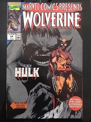 Marvel Comics Presents Wolverine #54 Hulk Appears NM CGC it for 9.8!