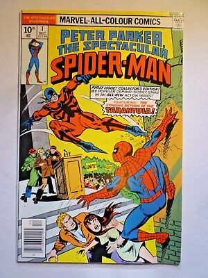 Peter Parker The Spectacular Spider-Man 1 Dec 1976 First Issue Marvel Comics