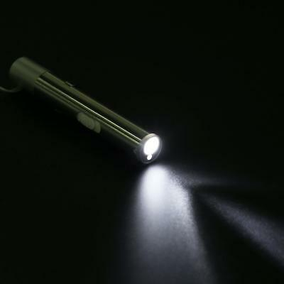 2 in 1 USB Rechargeable Mini Red Laser Pointer Pen w/ White LED Light Torch Lamp