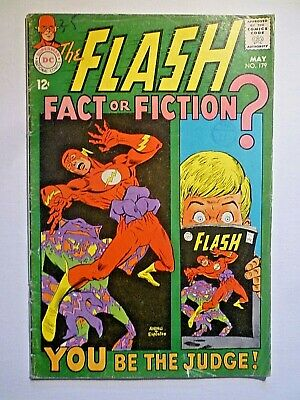 The Flash 179 May 1968 DC Comics Silver Age