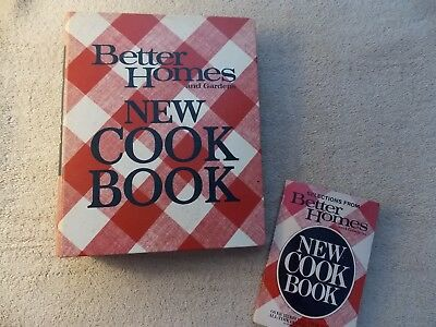 VINTAGE/ANTIQUE Better Homes and Gardens New Cook Books 1968