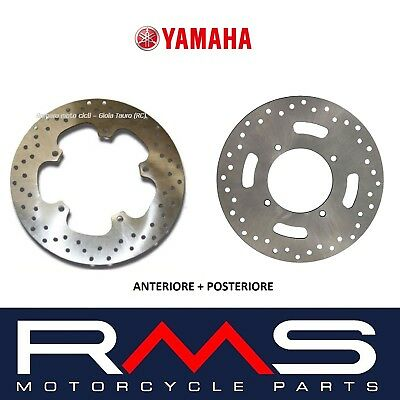 Kit 2 Pairs Brake Disc Front Rear Yamaha Xmax X-Max X Max 250 2006