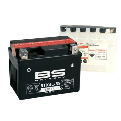 Batterie BS 12V 4Ah BTX5L-BS =YUASA YTX5 BS MINI QUAD ATV Pit Bike 50 90 110 125