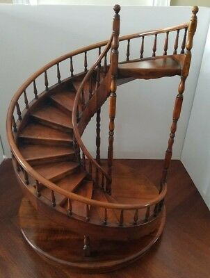 Theodore Alexander Display Spiral Staircase Stick & Ball Rails Spindle Posts