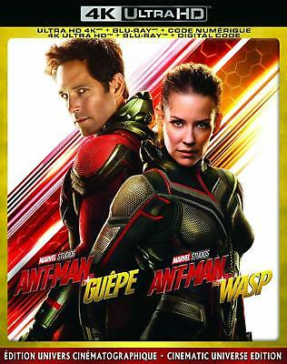 Ant-Man and the Wasp  [4K Ultra HD + Blu-ray] New and Factory Sealed!!