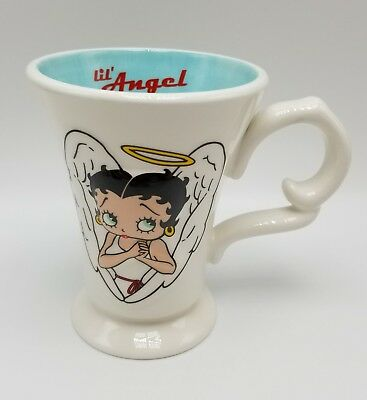Betty Boop Angel Cup Mug LiL ANGEL 2001 King Features Ceramic