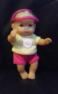Berenguer 5 inch baby doll comes with pink clothes  Discontinued