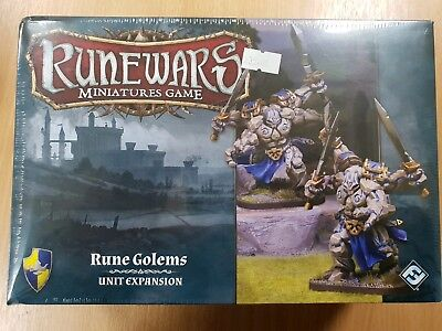 Runewars the Miniatures Games Rune Golems Unit Expansion Sealed Clearance New