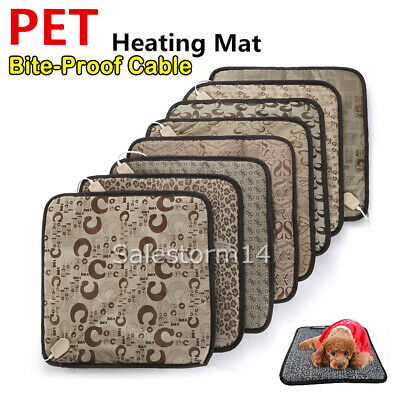 2018 NEW Model Pet Electric Heat Pad Heating Mat Warmer Blanket Dog Cat Warm AU