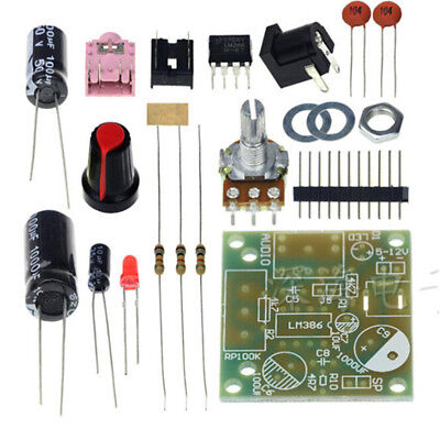 1Set LM386 Super MINI Amplifier Board 3V-12V DIY Kit M57 AY