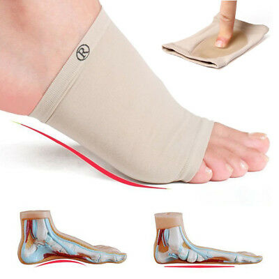 ARCH Support Shoe GEL Insole Flat Feet Pad PAIN RELIEF Plantar Fasciitis Foot W