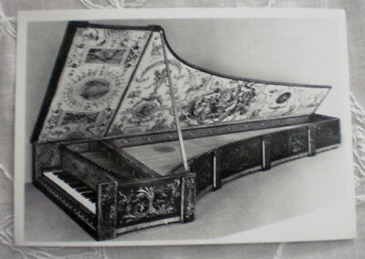 HARPSICHORD w/ grotesques & cartouche made by G. Baffo, Venice 1574 - unused