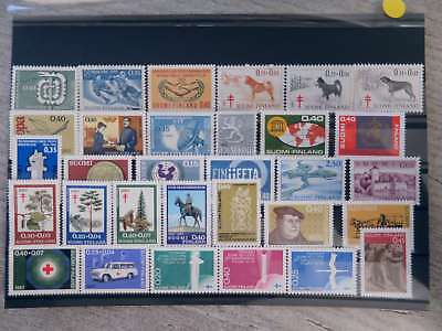 FINLAND 1965-67 incl NORDIA NEAT COLLECTION MNH**  /ct0126