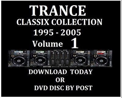 TRANCE CLASSICS Volume 01 - DOWNLOAD Today - DJ Collection 320kps MP3 Music