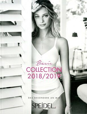 Speidel Basic Katalog 64 Seiten Dessous Luxus Catalogue Lingerie Lookbook 18/19