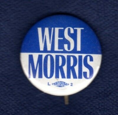 John West Earle Morris South Carolina Palmetto Governor Political Pinback Button