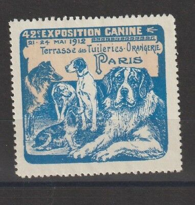 French Poster Stamp Dogs