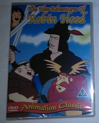 The new Adventures Of Robin Hood (DVD)