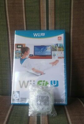 Wii Fit U Video Game With Wii Fit Meter (Nintendo Wii U 2014) Factory Sealed NEW