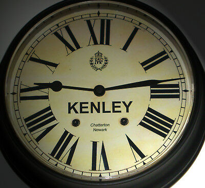 Royal Air Force Style, RAF Kenley, Souvenir Vintage Style Wall Clock.