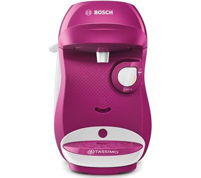 Bosch Tassimo Tas1001 Happy Multi Beverage Hot Choc Drink Coffee M/c Purple