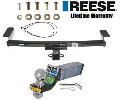 "Reese Trailer Tow Hitch For 09-14 Nissan Murano Class 3 w/ Ball Mount & 2"" Ball"