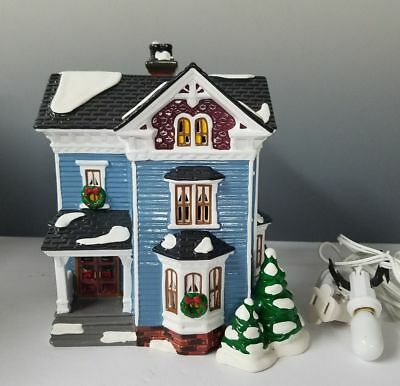 Dept 56 Snow Village ~ Glenhaven House ~ Mint In Box 54682