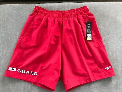 f29cd6bcec NWT MEN'S SPEEDO Lifeguard Swim Shorts, Sz Small - $19.99 | PicClick