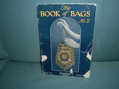 Antique Vintage Crocheted Knitted Beaded Handbag Purse Instruction Book 1923