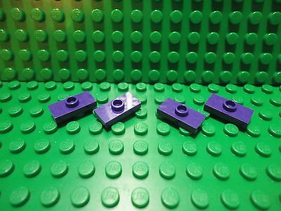 LEGO New Lot of 4 Pearl Gold 2x2 Tiles with Center Stud