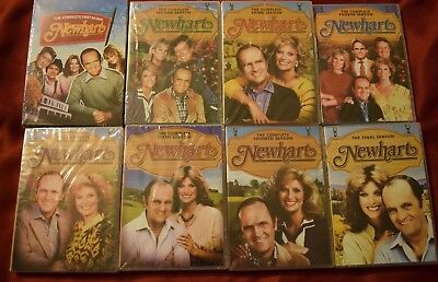Newhart Complete 1980's Tv Series Dvd Seasons 1-8 24 Dvd Set New 1 2 3 4 5 6 7 8