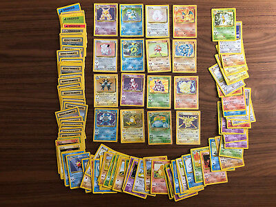 Set Base carte Pokemon COMPLETO 1999 102/102 incluso Charizard 4/102 Holo / Foil