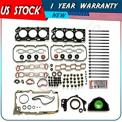 07-10 FITS  CHRYSLER 300 DODGE CHARGER 3.5 SOHC 24V VICTOR REINZ FULL GASKET SET