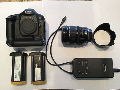 Canon EOS 1D Mark IIn body, batteries, charger, Cannon Ultrasonic 28-135mm